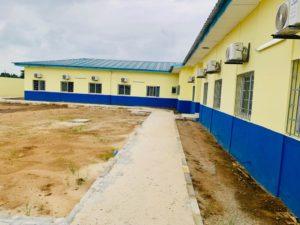 Livraison du commissariat ultramoderne d'Abobo Anokouakouté par Tco Services